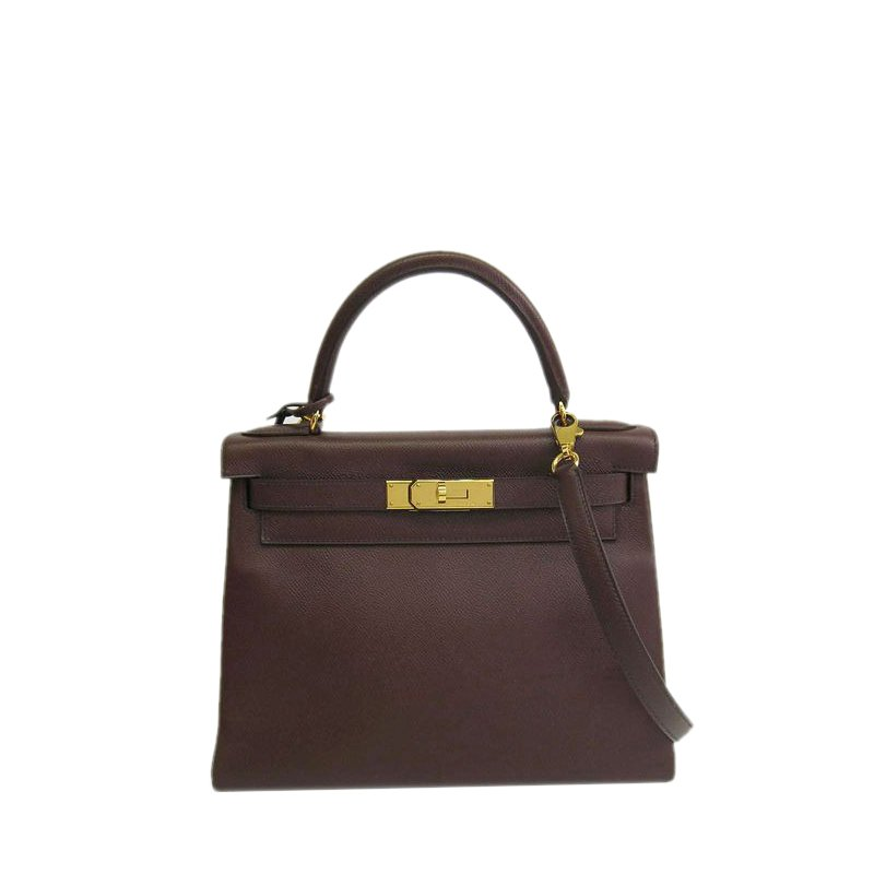 e5271e5daa87 Buy Hermes Brown Courchevel Kelly 28 13427 at best price