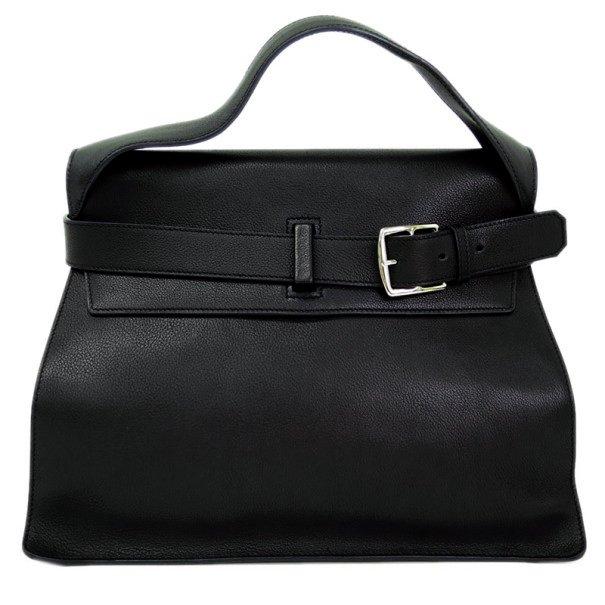 72ed60d84b ... Hermes Black Veau Evergrain Leather Etribelt Top Handle Bag. nextprev.  prevnext