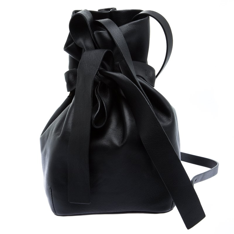 19ccd32a4a ... Jimmy Choo Black Nappa Leather Eve Bucket Bag. nextprev. prevnext