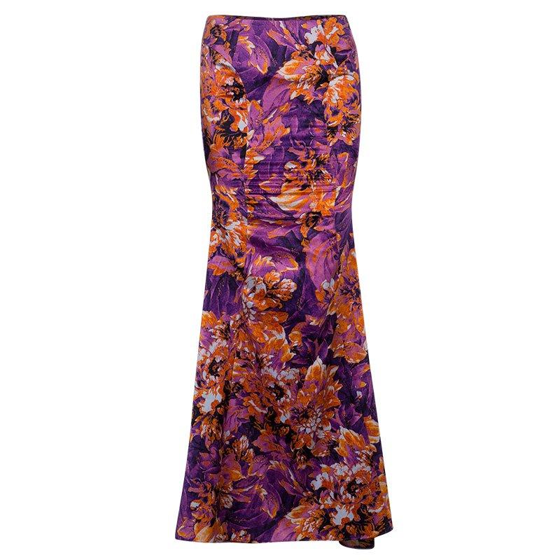 6f0501da3 Buy Just Cavalli Floral Maxi Skirt S 51070 at best price | TLC