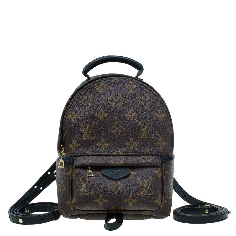 a16a7fe0b22e4 Buy Louis Vuitton Monogram Canvas Mini Palm Spring Backpack 55598 at ...