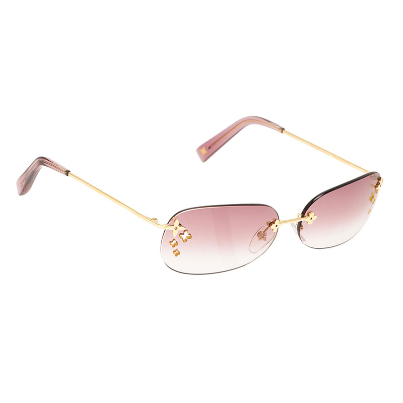 277eb4b3c9 Buy Louis Vuitton Purple Desmayo Sunglasses 39867 at best price