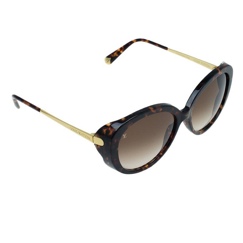 574010ad3b Buy Louis Vuitton Dark Tortoise Bluebell Sunglasses 56314 at best price