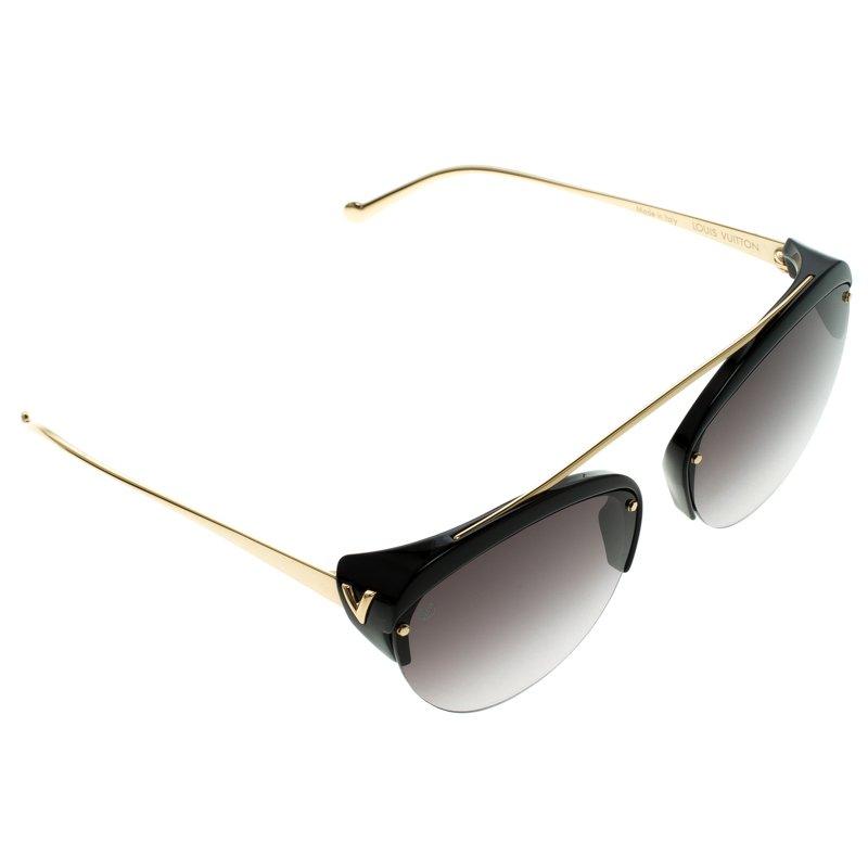 e9863d76fda5 Buy Louis Vuitton Black Gold Z0866U Bumble Bee Sunglasses 94560 at ...