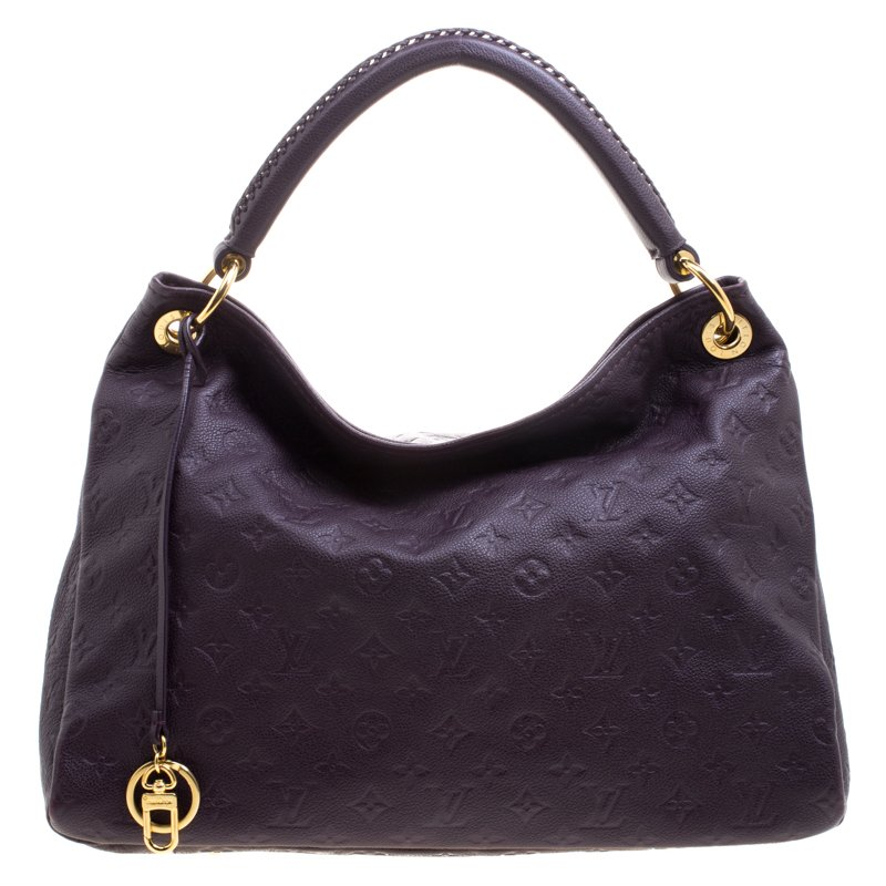 fd87b2ab354d ... Louis Vuitton Aube Monogram Empreinte Leather Artsy MM Bag. nextprev.  prevnext