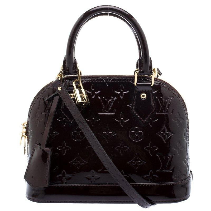 096cd990cdc18 ... Louis Vuitton Amarante Monogram Vernis Alma BB Bag. nextprev. prevnext