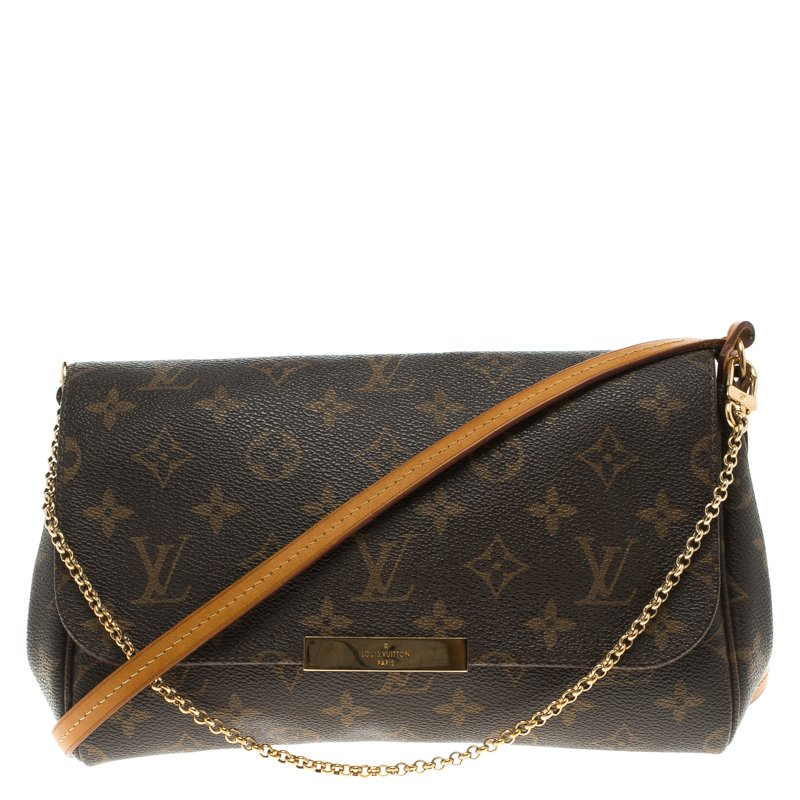 5f4a2fe1a22 Buy Louis Vuitton Monogram Canvas Favorite PM Bag 104193 at best ...