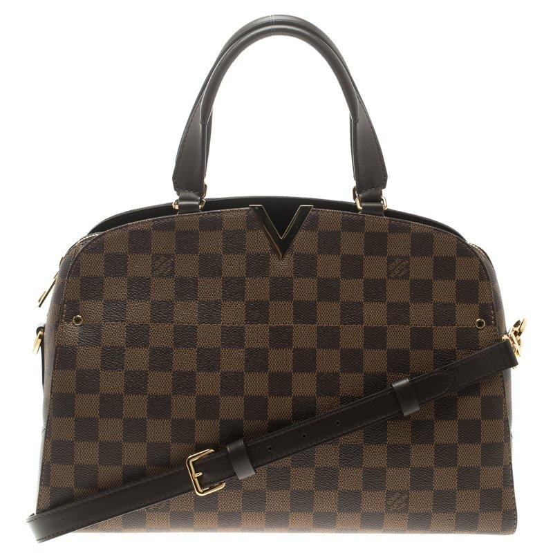 236e9fb0a4d5 ... Louis Vuitton Damier Ebene Canvas Kensington Bowling Bag. nextprev.  prevnext