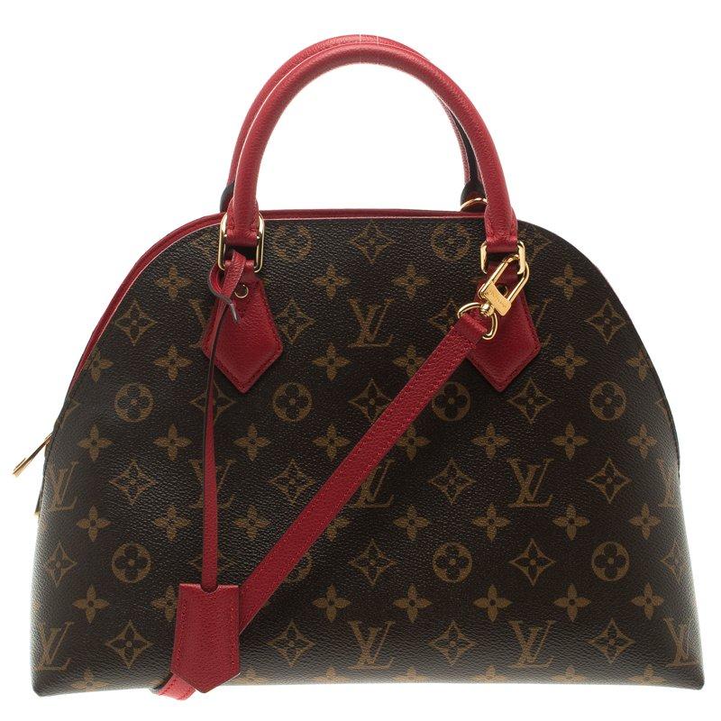 25d752a27308 ... Louis Vuitton Cherry Monogram Canvas Alma B N B Bag. nextprev. prevnext