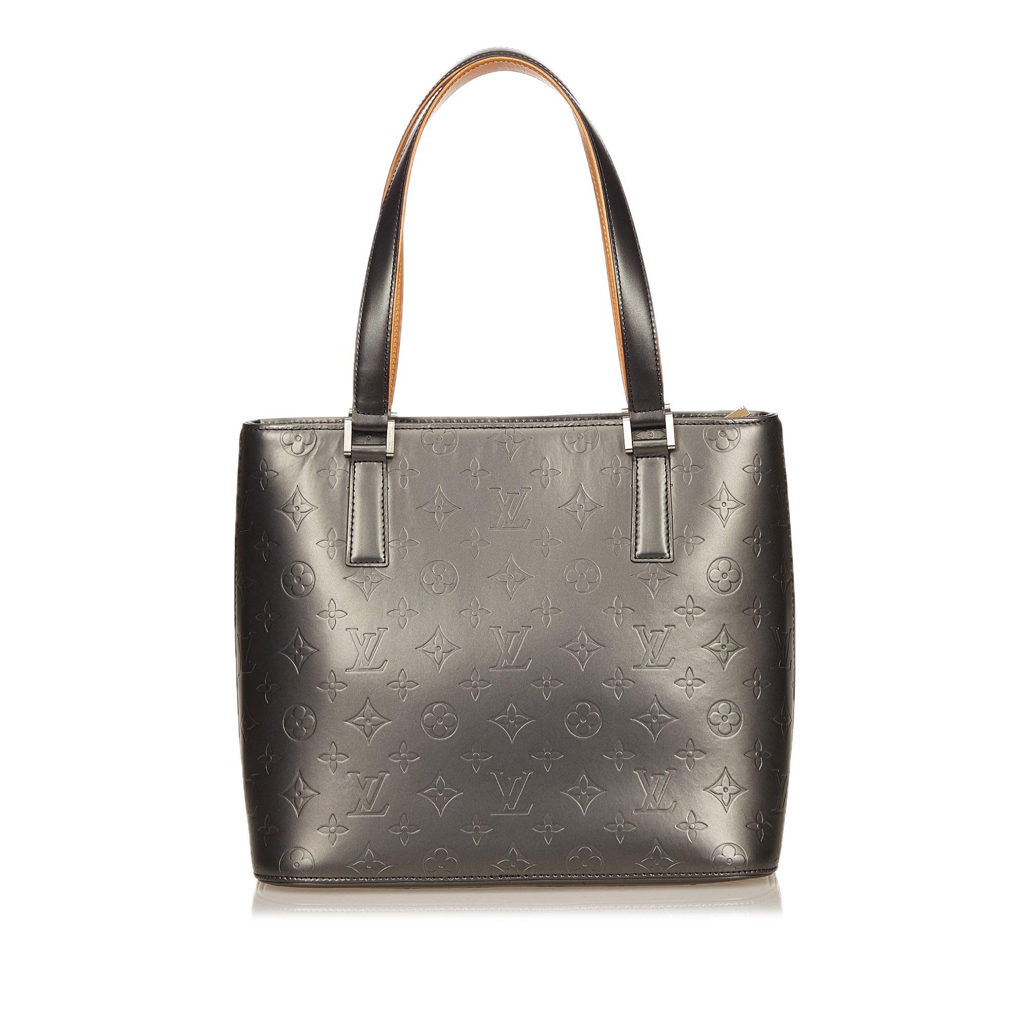 39b1de1fbae Buy Louis Vuitton Silver Monogram Mat Stockton Tote 39923 at best ...