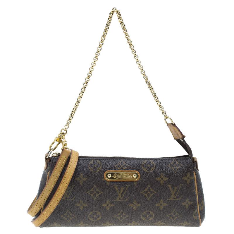 95d209f05cd0 Buy Louis Vuitton Monogram Canvas Eva Crossbody 40030 at best price ...