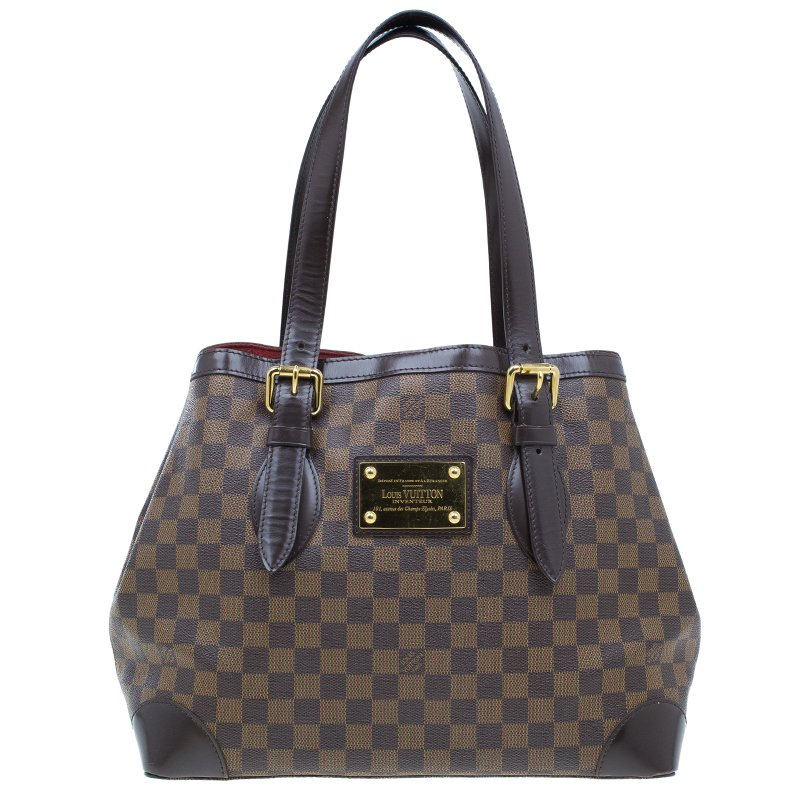 f80cb31f8a05 Buy Louis Vuitton Damier Ebene Hampstead MM 41619 at best price