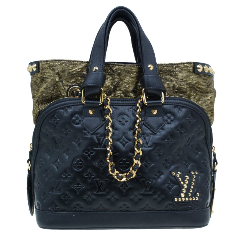 ... Black Monogram Leather Double Jeu Neo Alma Bag. nextprev. prevnext ff7849a73fbbe