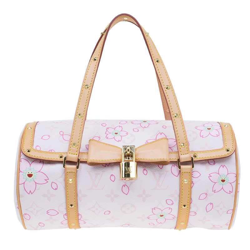 286d3a9911c6 ... Louis Vuitton Pink Monogram Canvas Limited Edition Cherry Blossom  Papillon Bag. nextprev. prevnext