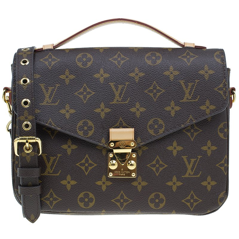5017d342a112 Buy Louis Vuitton Monogram Canvas Pochette Metis Bag 42640 at best ...