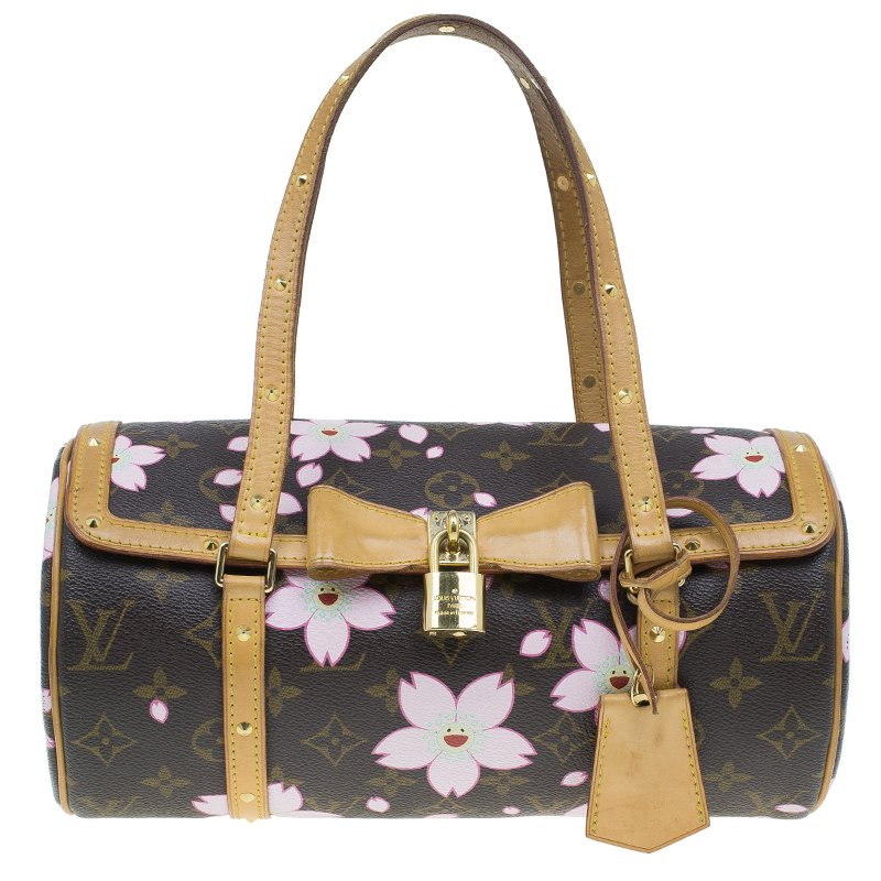 f85d8bec2b3b ... Louis Vuitton Monogram Canvas Limited Edition Cherry Blossom Papillon  Bag. nextprev. prevnext