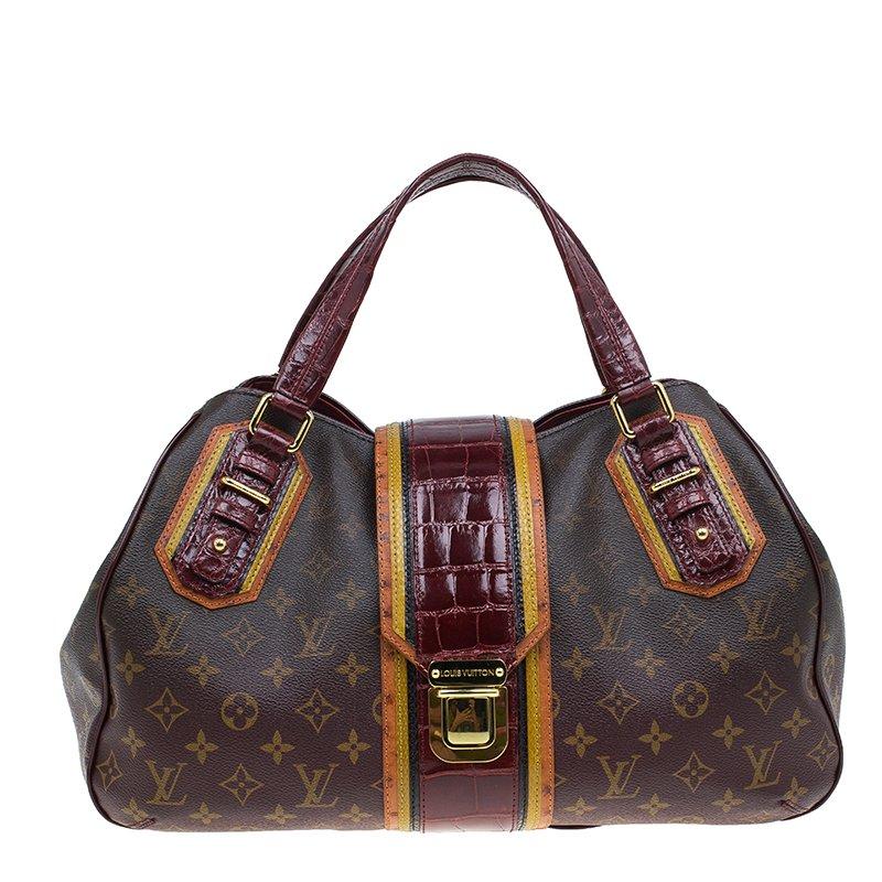 8b1a71b53d4 Buy Louis Vuitton Monogram Limited Edition Bordeaux Mirage Griet ...