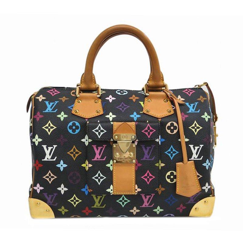 a21c08927561 ... Louis Vuitton Black Monogram Multicolor Speedy 30. nextprev. prevnext