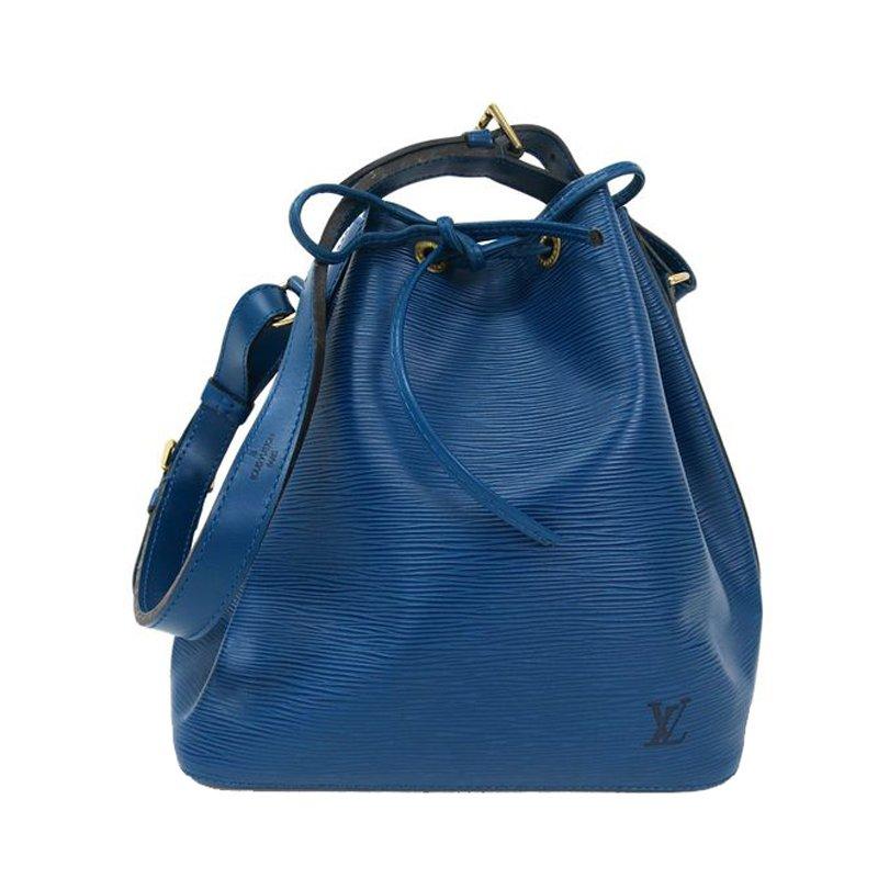 ... Louis Vuitton Blue Toledo Epi Leather Petit Noe Shoulder Bag. nextprev.  prevnext 9c48f23fb1562