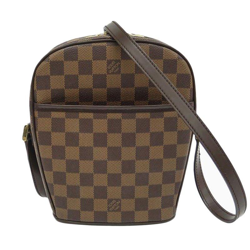Buy Louis Vuitton Damier Ebene Ipanema PM Crossbody Shoulder Bag 47524 at  best price  26eb6c393b56d