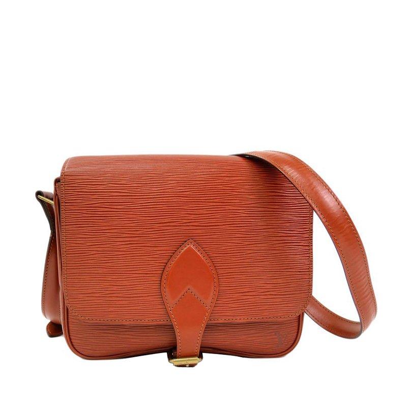 abda9e0d43 ... Louis Vuitton Brown Epi Leather Cartouchiere MM Shoulder Bag. nextprev.  prevnext