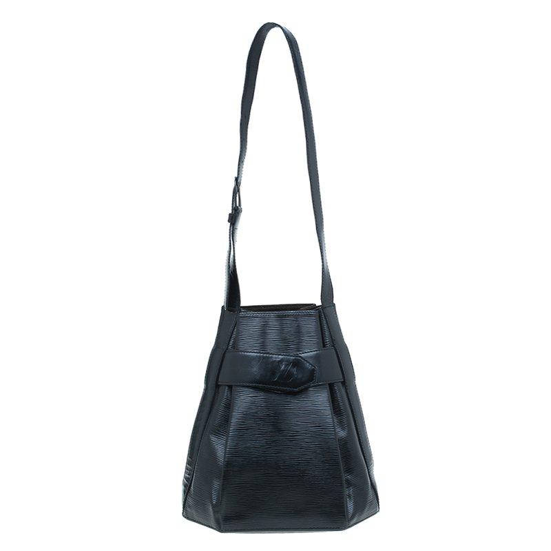 c1912731d6a5 ... Louis Vuitton Black Epi Leather Sac D epaule Bag. nextprev. prevnext
