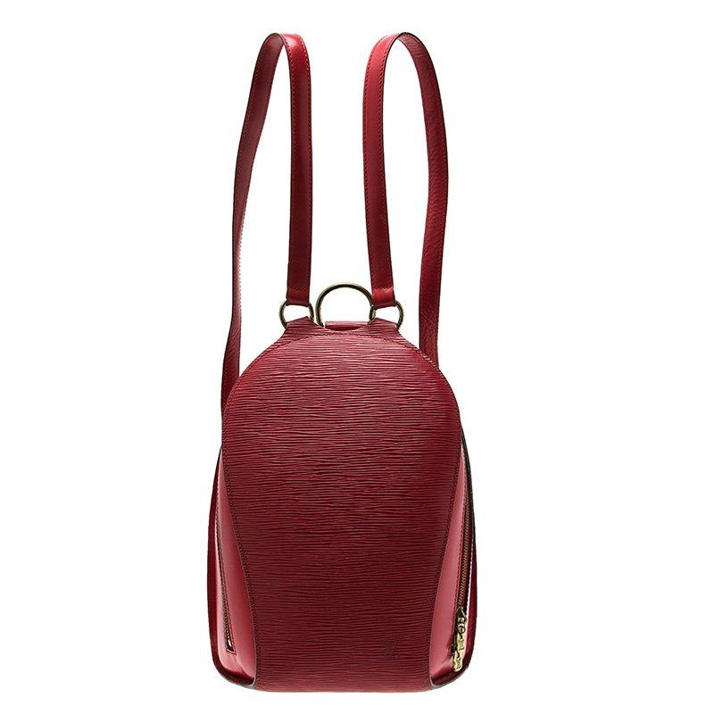 f168d1d9b954 ... Louis Vuitton Red Epi Leather Mabillon Backpack Bag. nextprev. prevnext