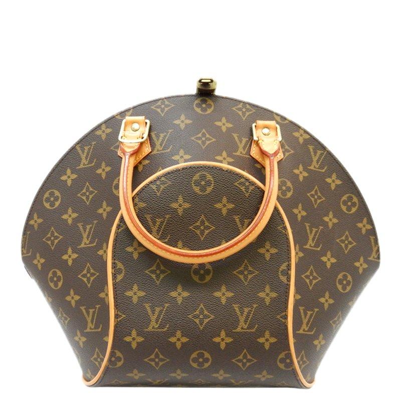 Louis Vuitton Monogram Canvas Ellipse Top Handle Bag MM