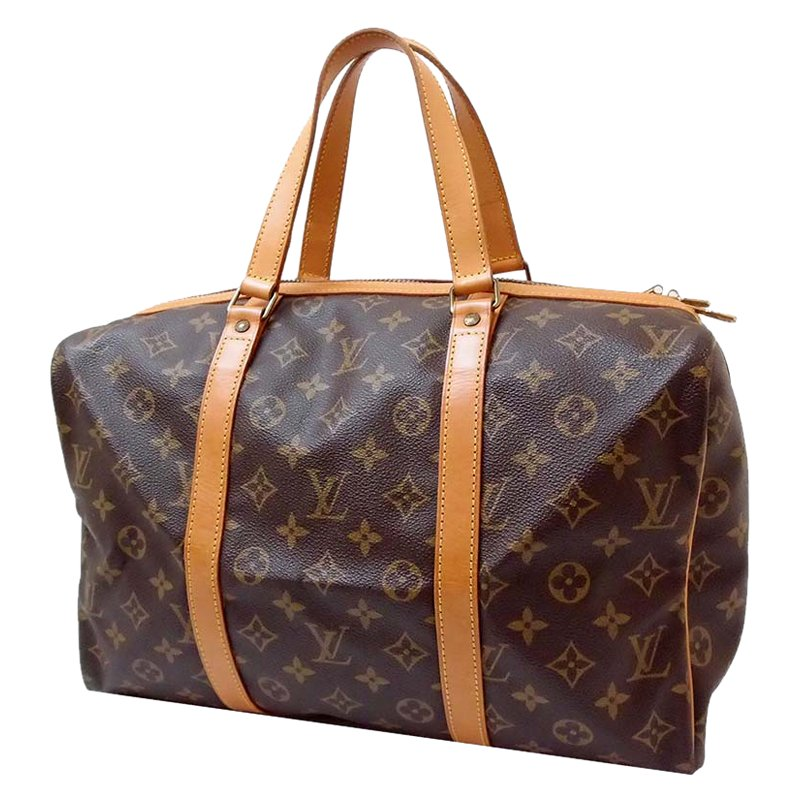 64092d938e6 Buy Louis Vuitton Monogram Canvas Sac Souple Duffle Bag 35 49858 at ...