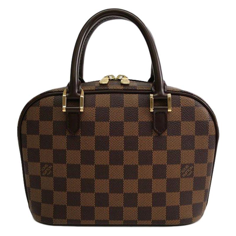 Buy Louis Vuitton Damier Ebene Canvas Sarria Mini Top Handle Bag ... 2a2f0c2727