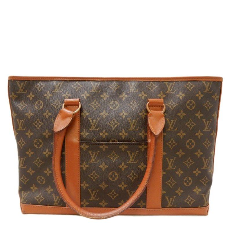 إشتري حقيبة لوي فيتون ساك ويكيند كانفاس مونوغرامي PM 50977 بأفضل ... 1927a1cb349b0