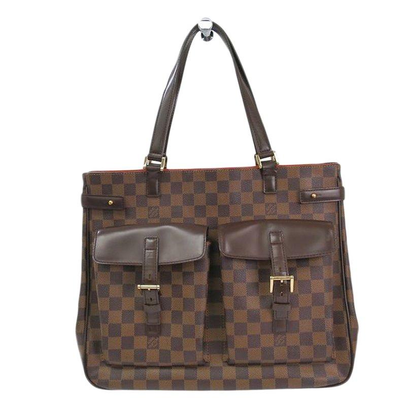Buy Louis Vuitton Damier Ebene Canvas Uzes Tote 51227 at best price ... a4c79ace8d314