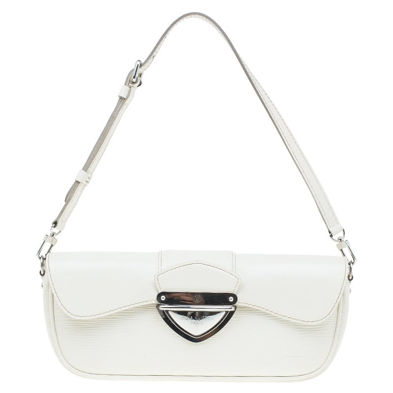 f5f27c6104d4 ... Louis Vuitton Ivory Epi Leather Montaigne Clutch Bag. nextprev. prevnext