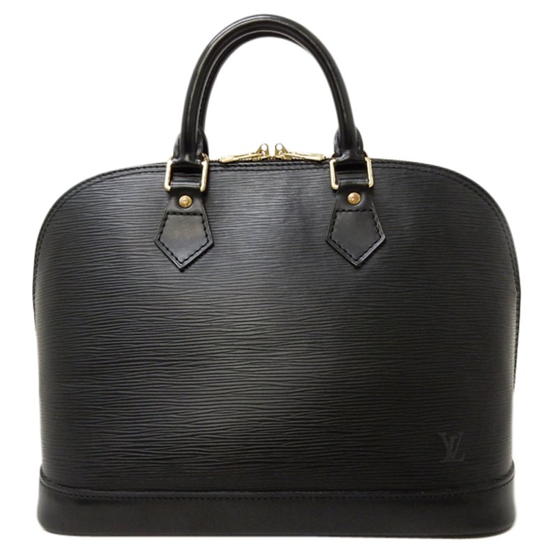 06d969703 Buy Louis Vuitton Black Epi Leather Alma PM 52820 at best price | TLC