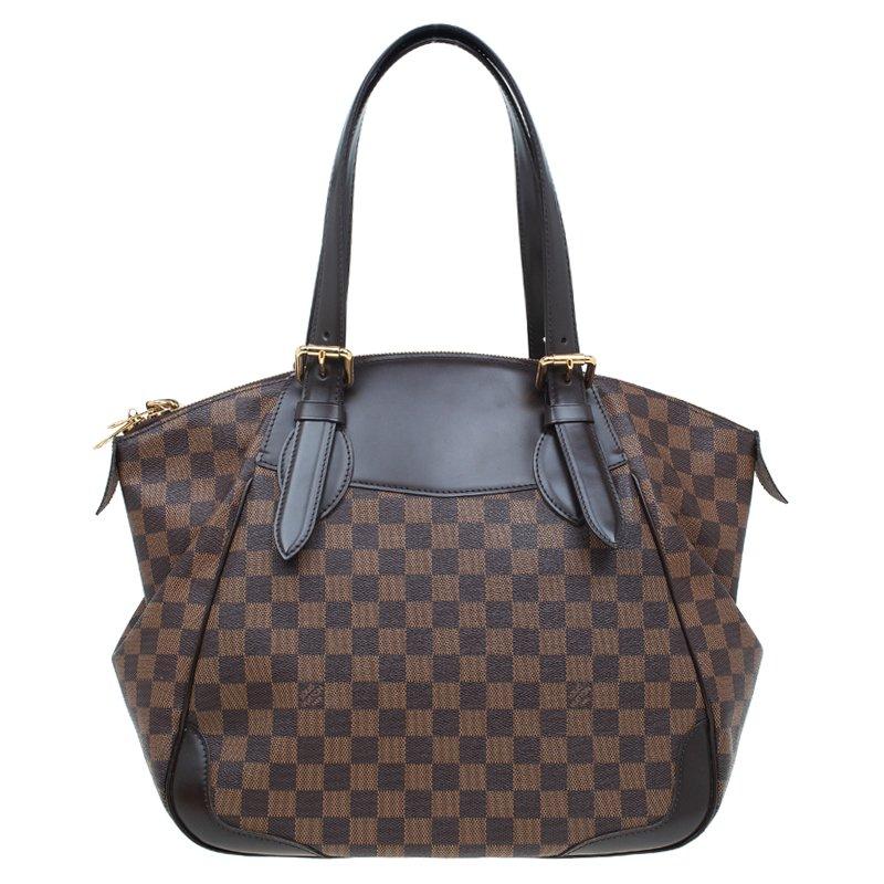 46f85723c2f Louis Vuitton Damier Ebene Canvas Verona GM Bag