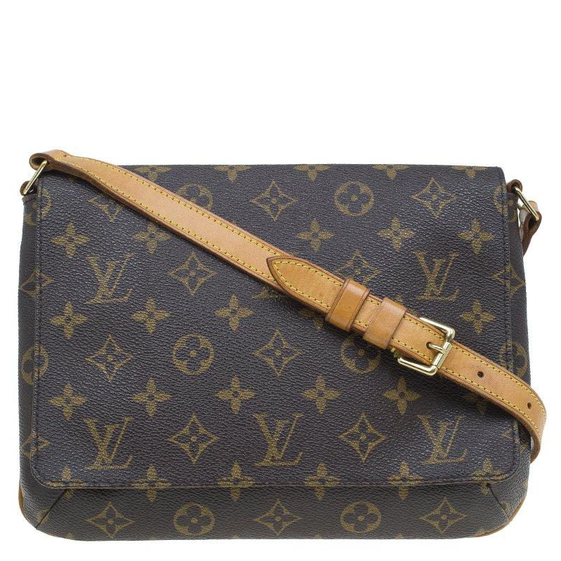 Buy Louis Vuitton Monogram Canvas Musette Tango Long Strap Bag 53822 ... 3df9c77d1dd4d