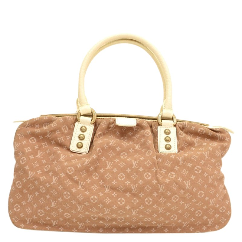 37eafd8fe75a Buy Louis Vuitton Camel Monogram Mini Lin Trapeze Satchel GM 54052 ...