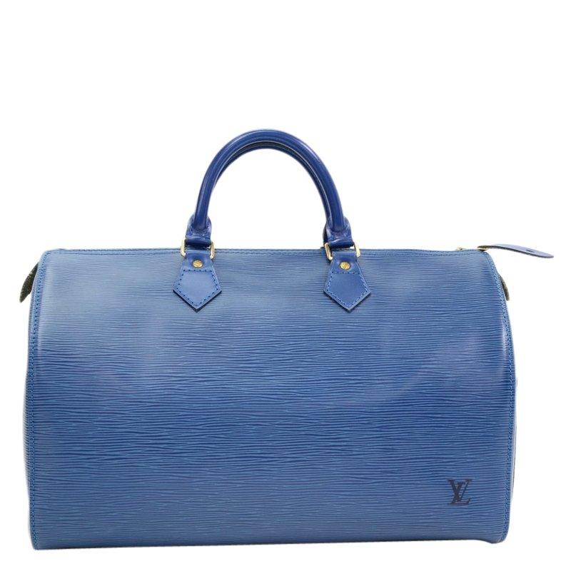 a4328dd3fe33 ... Louis Vuitton Toledo Blue Epi Leather Speedy 35. nextprev. prevnext