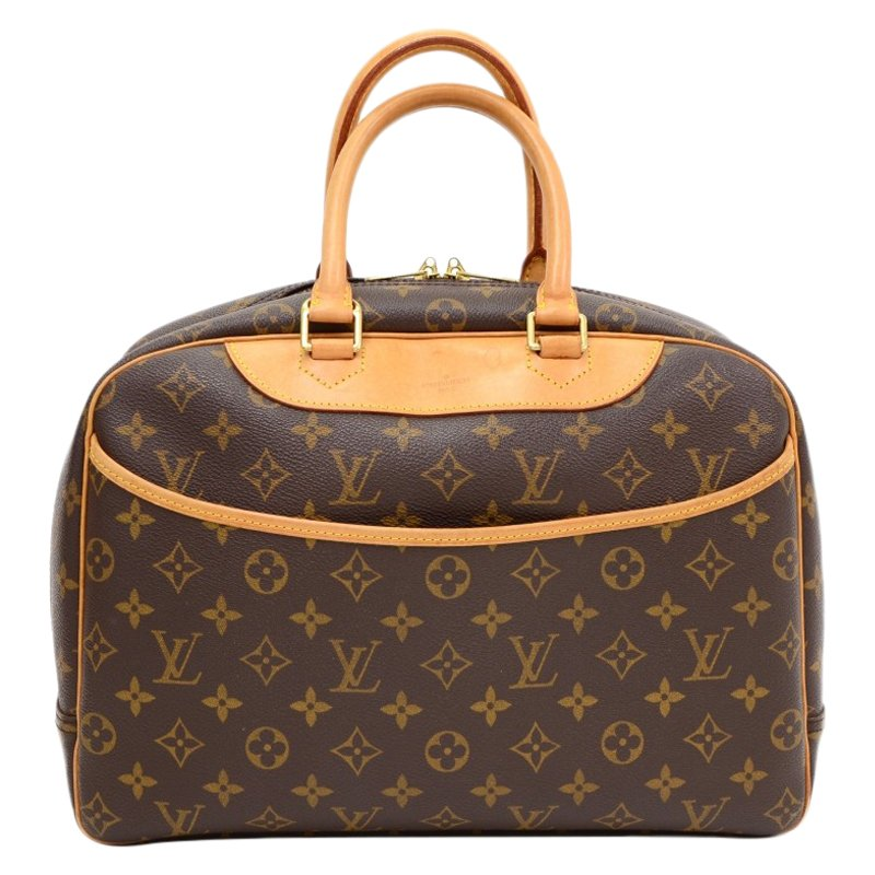 aee6acdab658 ... Louis Vuitton Monogram Canvas Deauville Top Handle Bag. nextprev.  prevnext