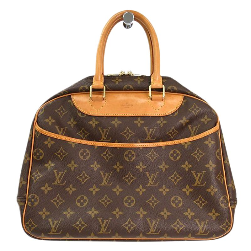 1269c00c55b6 Buy Louis Vuitton Monogram Canvas Deauville Bag 54530 at best price ...