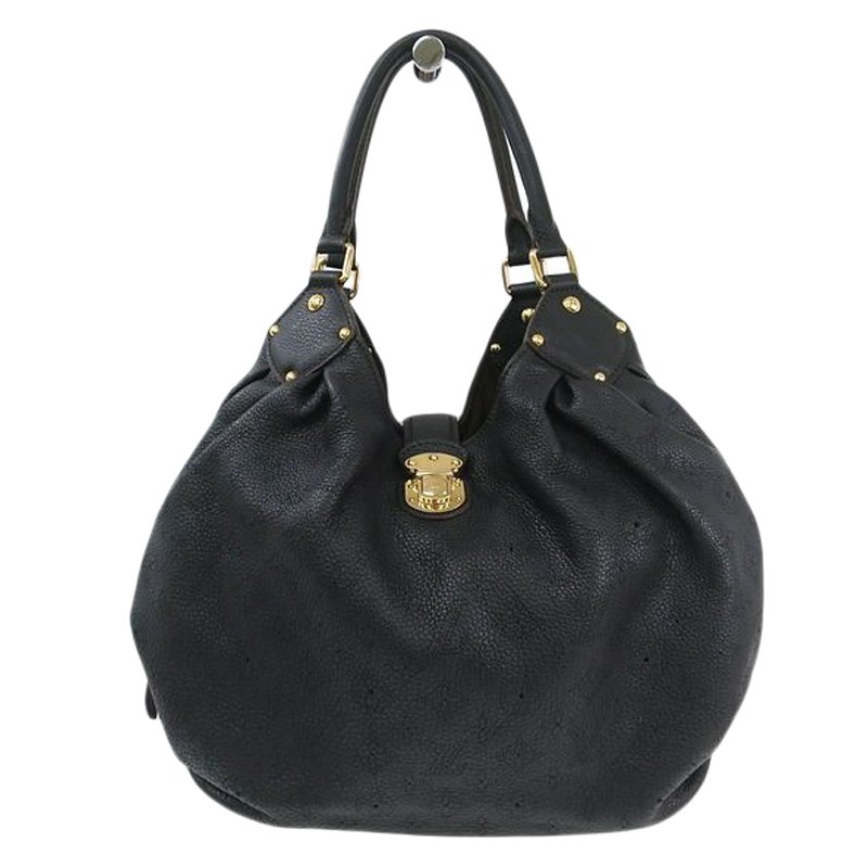 e8a089009c91 ... Louis Vuitton Black Monogram Mahina Leather L Bag. nextprev. prevnext