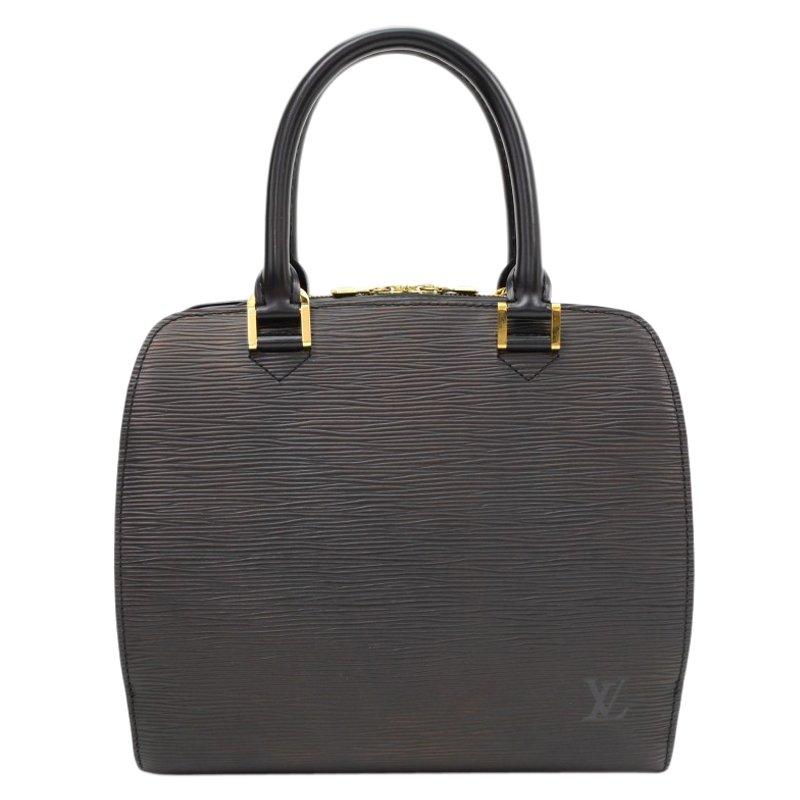 659b69349c2 Louis Vuitton Black Epi Leather Pont Neuf PM Bag