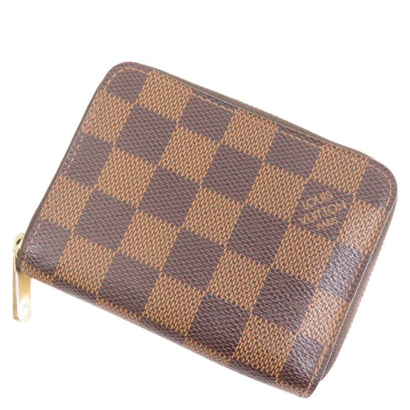 2e1de606451 Buy Louis Vuitton Damier Ebene Zippy Coin Purse 56457 at best price ...