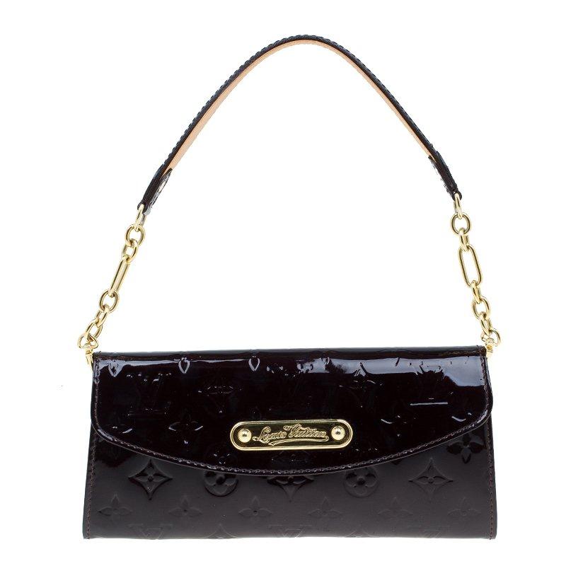 93e4e725d06b ... Louis Vuitton Amarante Monogram Vernis Sunset Boulevard Clutch Bag.  nextprev. prevnext