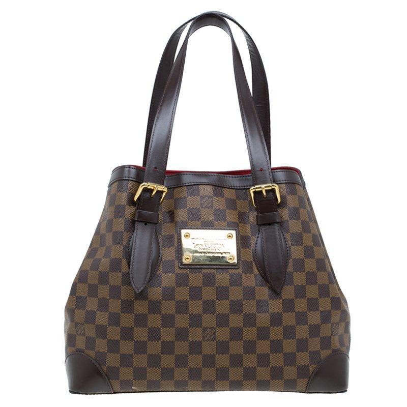45616da199f9c ... Louis Vuitton Damier Ebene Canvas Hampstead MM Bag. nextprev. prevnext