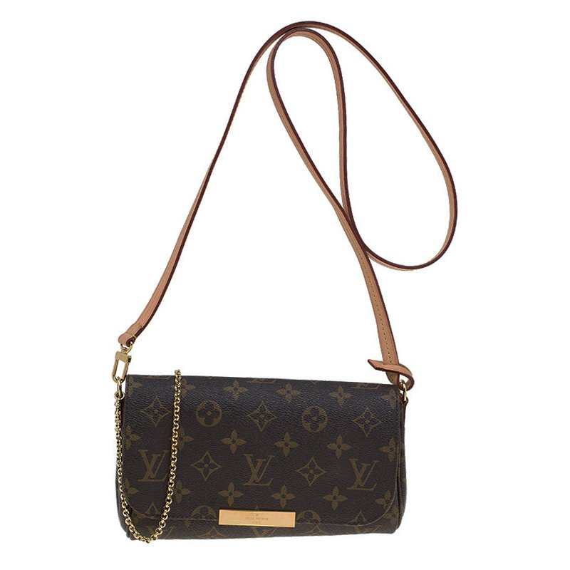 93bbb045089 Buy Louis Vuitton Monogram Canvas Favorite PM Bag 61047 at best ...