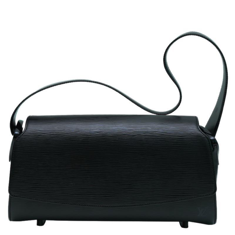 377c1b4d Louis Vuitton Black Epi Leather Nocturne GM Bag