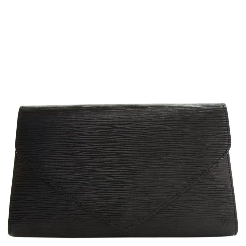 c90cb2be9826c ... Louis Vuitton Black Epi Leather Art Deco Clutch MM. nextprev. prevnext