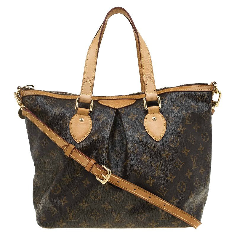 Buy Louis Vuitton Monogram Canvas Palermo PM Bag 63554 at best price ... bd8f5f8ffd7a9