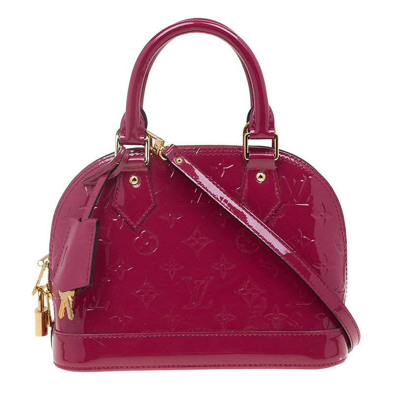 949857de1699a1 ... Louis Vuitton Amethyste Monogram Vernis Alma BB Bag. nextprev. prevnext